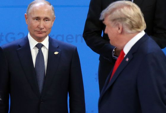 Putin Says He Talked With Trump About Ukraine Clash at G-20