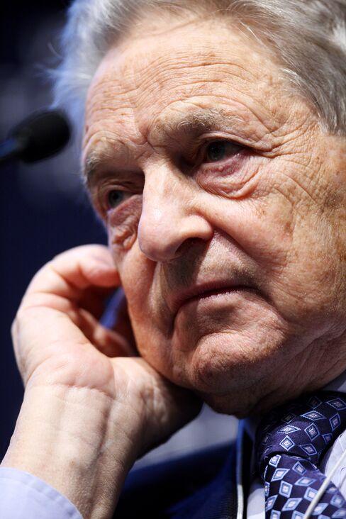 Soros Fund Management LLC Founder George Soros