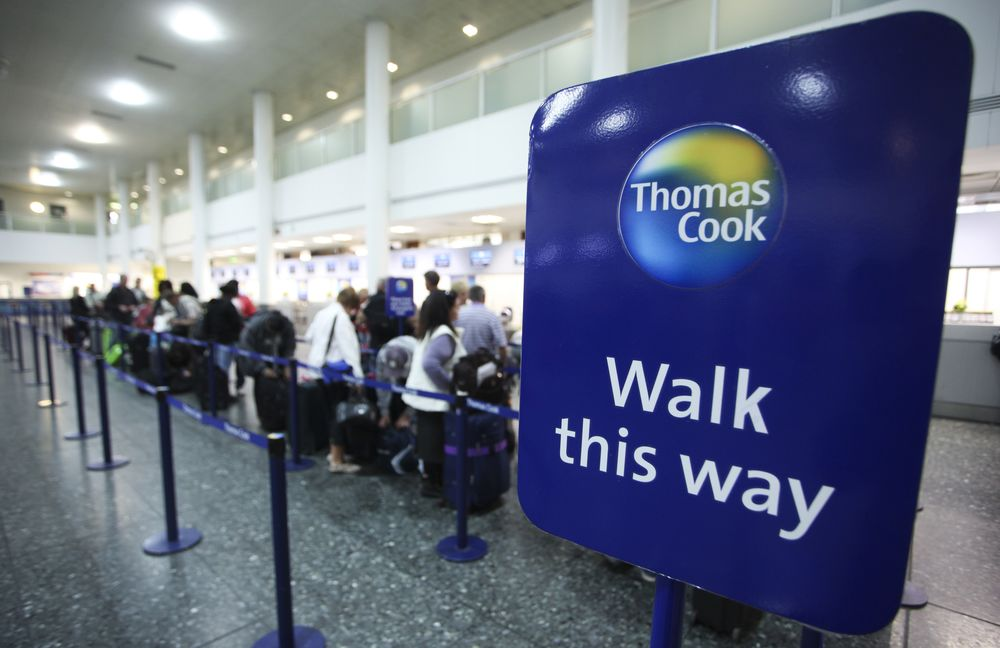 Thomas Cook's Short Sellers Get Sent on a Detour