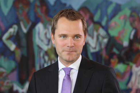 Germany's Health Minister Daniel Bahr