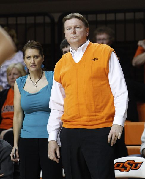 Kurt Budke and Miranda Serna