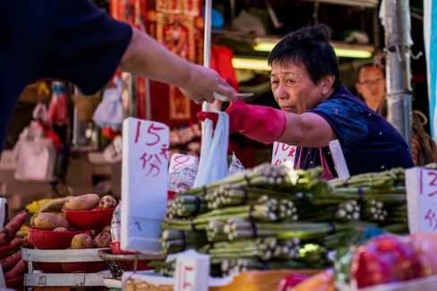 Markets And Island East Area As Hong Kong CPI Figures Are Released