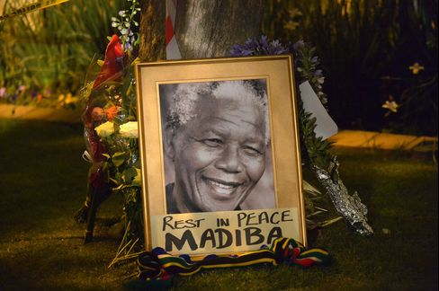 Tributes to Former South African President Nelson Mandela