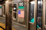 New York City Subway System Use Rises In Week