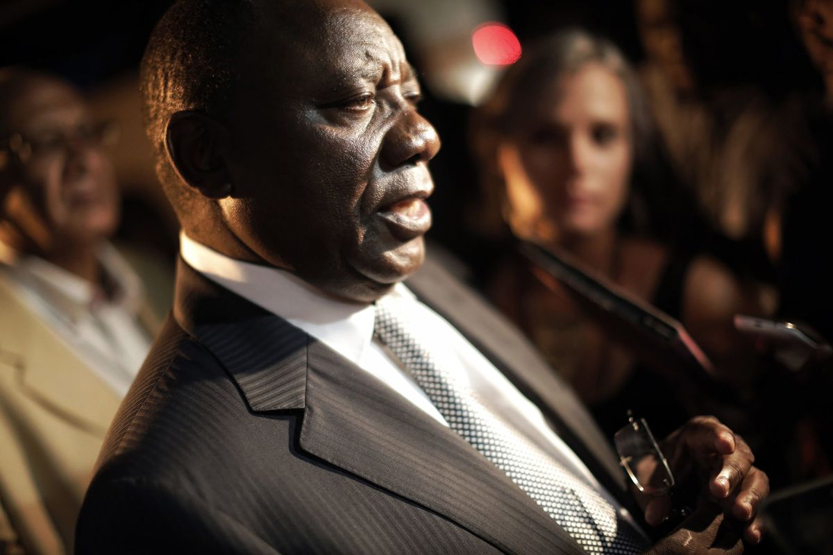 Anc S Ramaphosa Calmly Sells Cattle As Sex Claims Swirl Bloomberg
