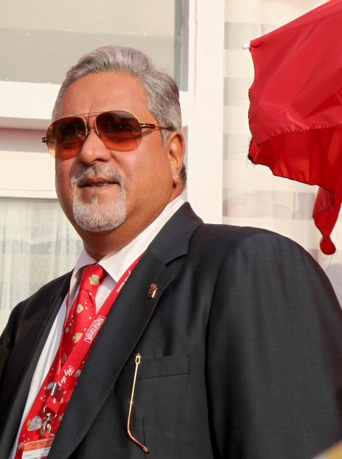 Kingfisher Airlines Ltd. Chairman Vijay Mallya