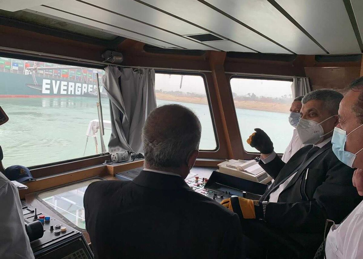 Suez Snarl Seen Halting $9.6 Billion a Day Worth of Ship Traffic thumbnail