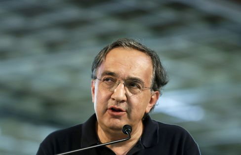 Fiat SpA Chief Executive Officer Sergio Marchionne