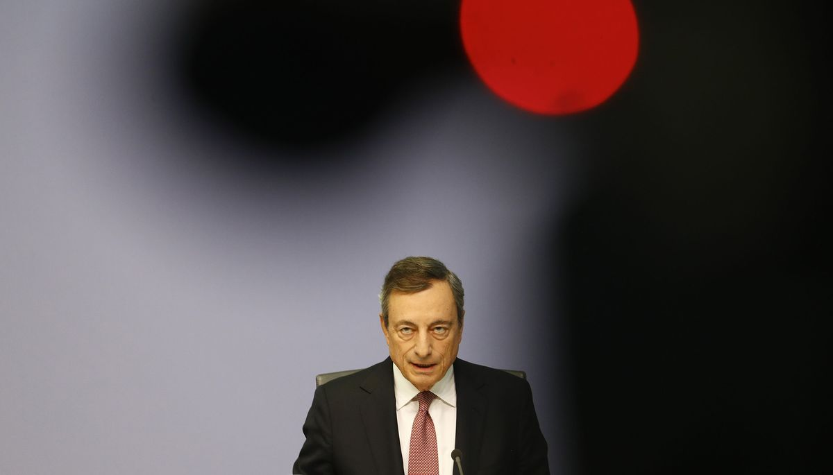 Draghi Offers 'Mixed Blessing' to Stock Traders, But No Panacea