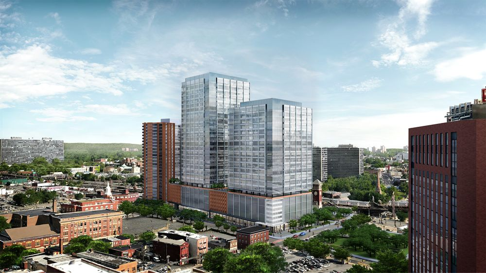 A 1 Billion Real Estate Boost For Battered Newark Bloomberg