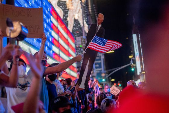 Biden Celebrations Gloss Over Divided and Embittered Electorate