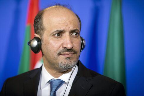 Syrian Opposition Coalition Ahmad al-Jarba
