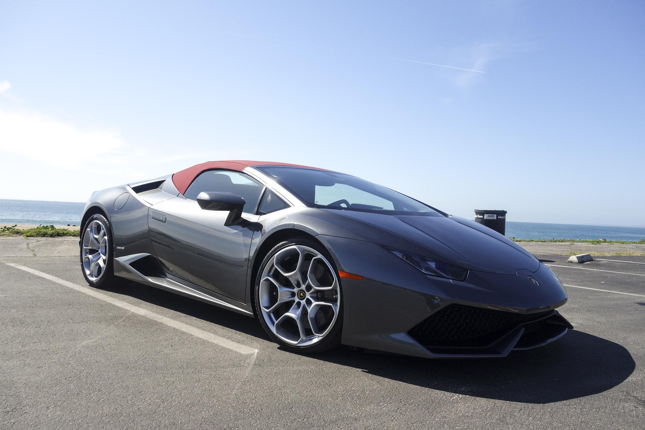 The Sexiest Drop-Top: Lamborghini Huracán Spyder