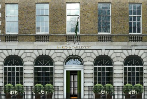 Les 110 de Taillevent in London is situated on a square just north of Oxford Street, in the heart of the City.