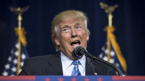 Donald Trump speaks in Phoenix on Aug. 31, 2016.