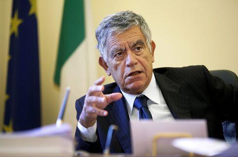 Italy's Undersecretary Of Finance Gianfranco Polillo