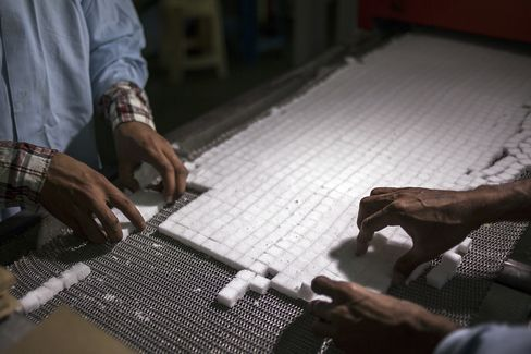 Sugar Falls to Lowest Since July 2010 as Brazil's Output Surges