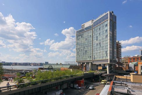 The Standard Hotel in New York City's Meatpacking District.