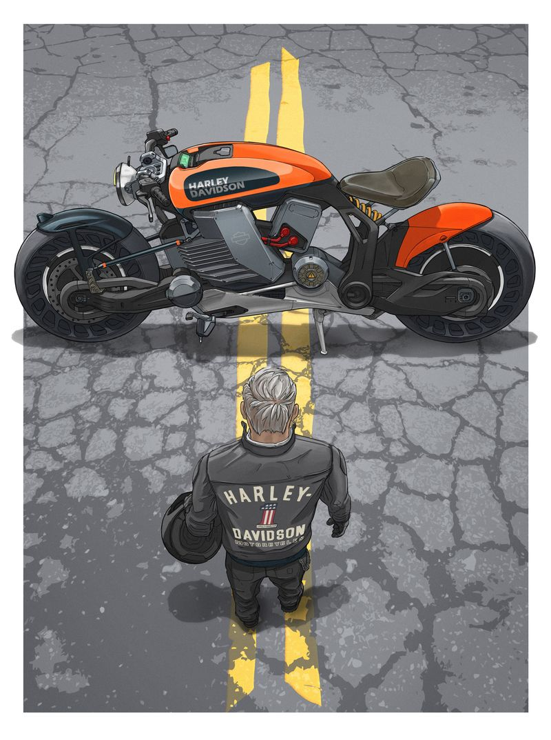 Harley Davidson Needs A New Generation Of Riders Bloomberg