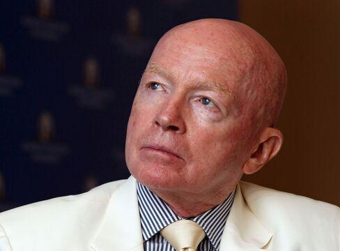 Mark Mobius, chairman of Templeton Asset Management Ltd.
