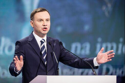 Polish Presidential Candidate Andrzej Duda