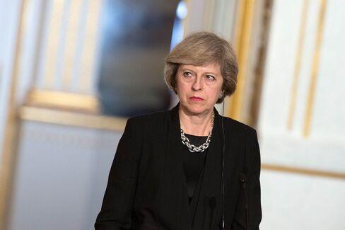 British Prime Minister Theresa May.