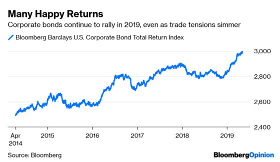 Corporate Bonds Aren't Worried About a Trade War