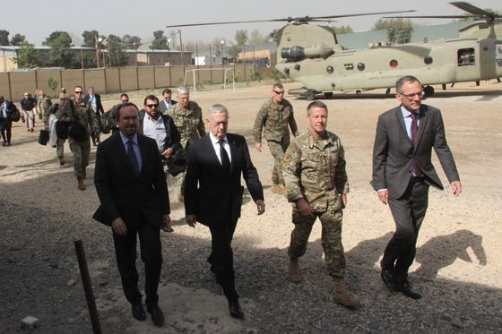 Defense Secretary Jim Mattis Makes Fourth Visit to Afghanistan