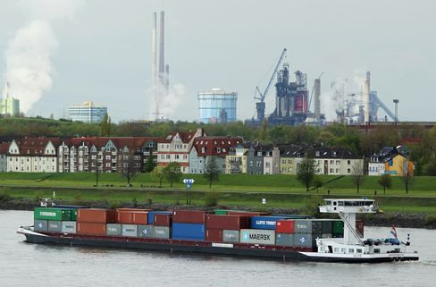 Duisburg Back From Brink Gives German Lesson in Economic Revival