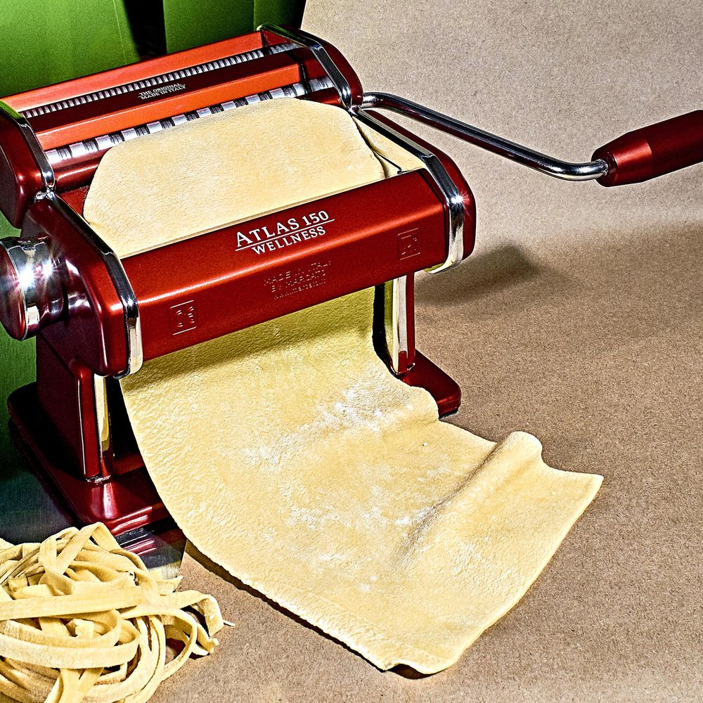 A Homemade Pasta Machine for Slow Food Enthusiasts