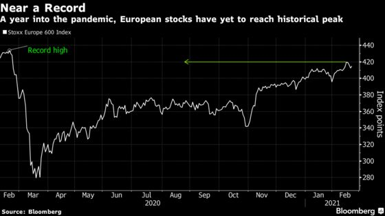 European Stocks Climb to Reverse Weekly Loss as Cyclicals Lead