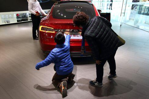 Tesla Motors Showroom in Beijing