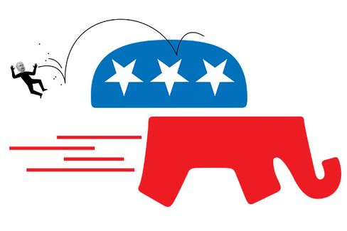 A Republican Revolt Against Karl Rove