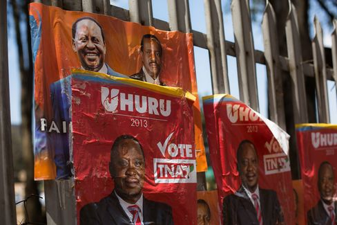 Kenyatta Leads Kenya Vote as Odinga Raises Voting Concerns