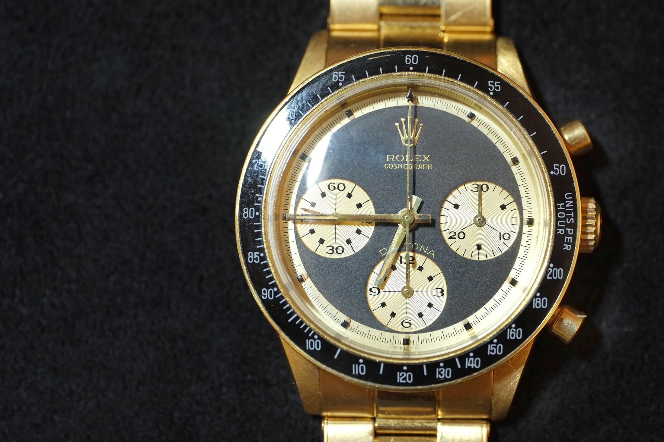 Rolex Paul Newman Daytona for Hermès (Lot 222)
