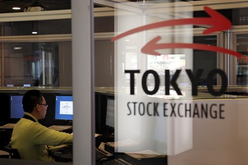 Asian Stocks Advance Third Day on U.S. Jobless Claims, Earnings