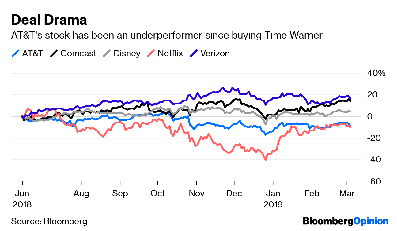 AT&T Overcame Trump But Can It Beat Netflix? - Bloomberg