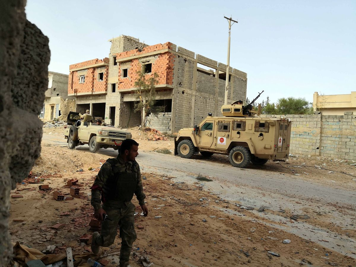 Libya's Prime Minister Says Russia Mercenaries Will Drag Out War