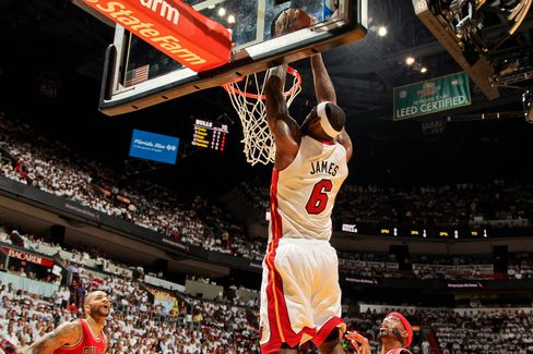 Miami Heat Win 94-91 to Oust Chicago Bulls in NBA Playoff Series