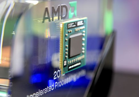 AMD Plunges on Predicted Chip Sales Slump