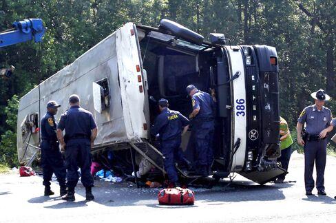 U.S. Should Have Shut Bus Company Before Fatal Crash, NTSB Says