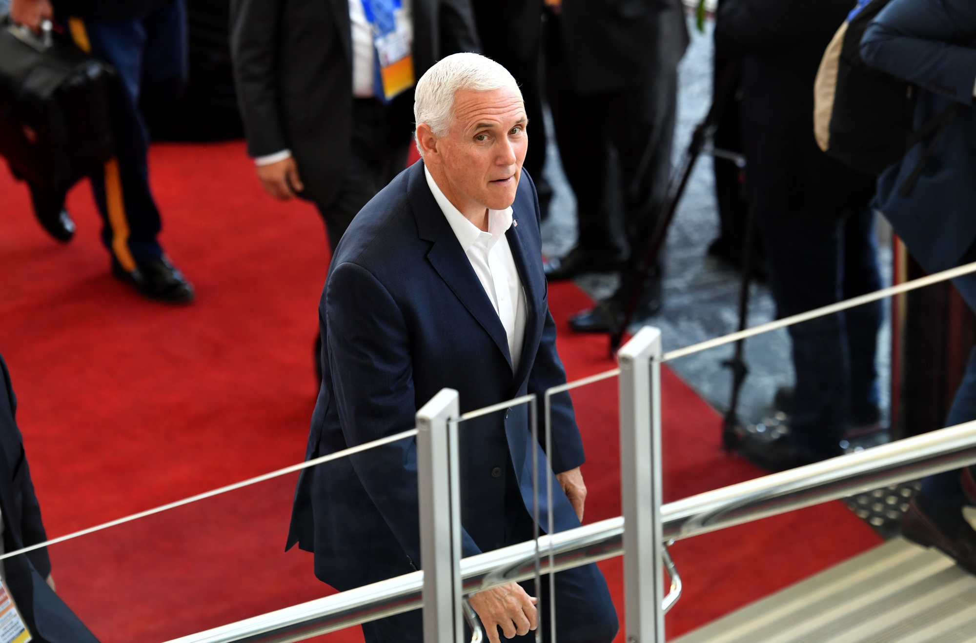 bloomberg.com - Jason Scott - Pence's Sharp China Attacks Fuel Fears of New Cold War