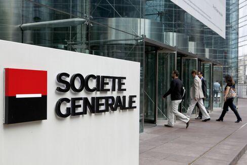 SocGen Credit-Default Swaps Rise 29 Basis Points