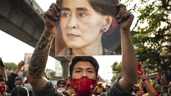 Myanmar Sees Biggest Protest in Years as Coup Opposition Grows
