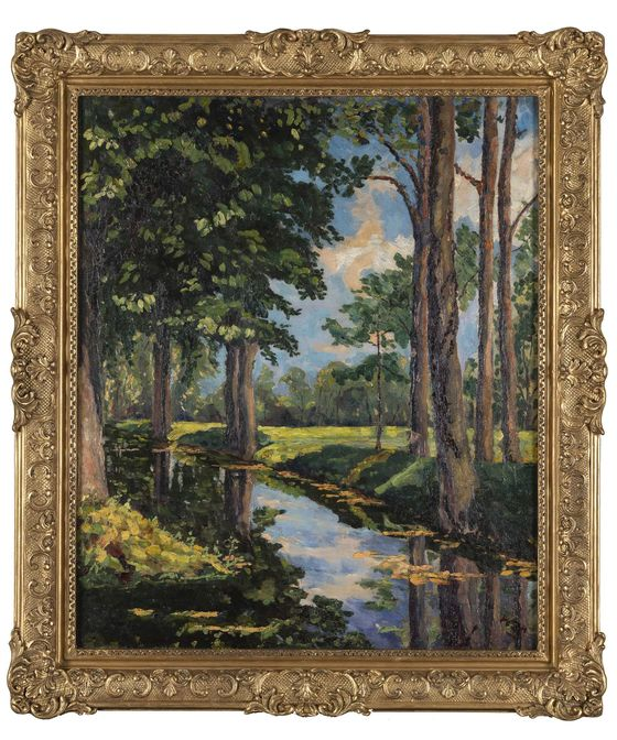 The Onassis Family Is Selling a Painting by Winston Churchill