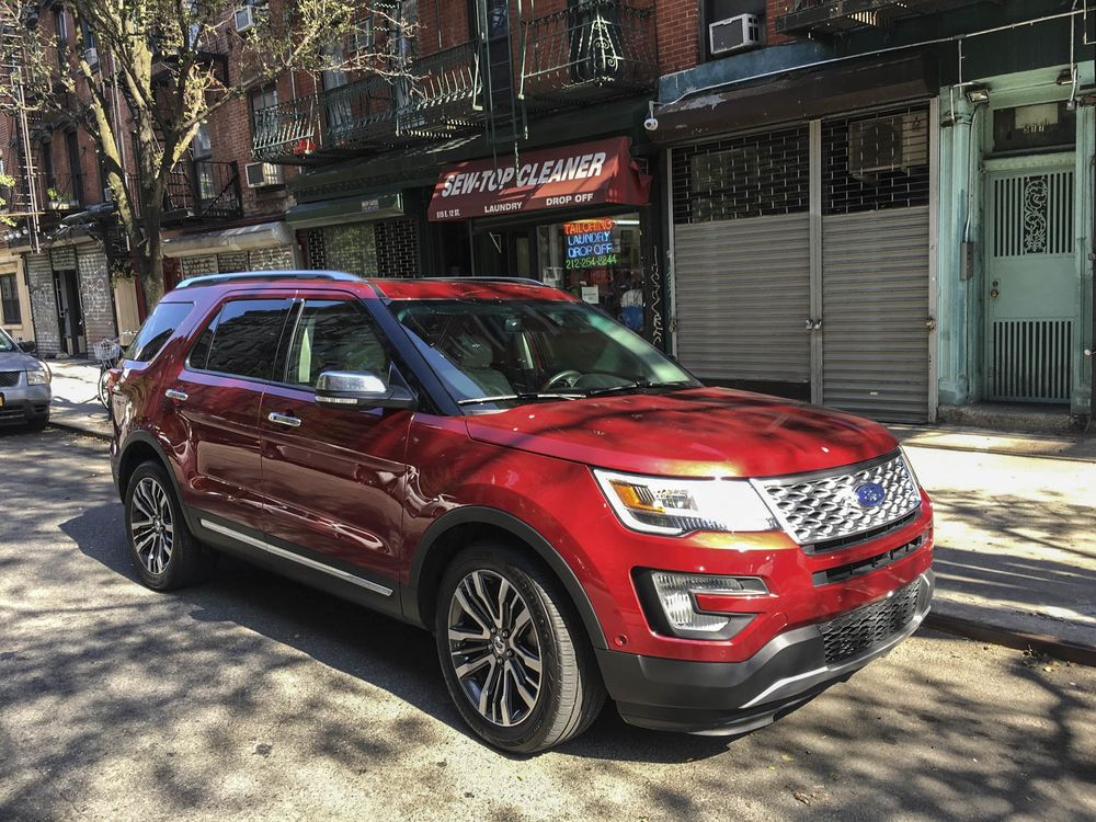2017 ford explorer platinum review: putting it to the single-female