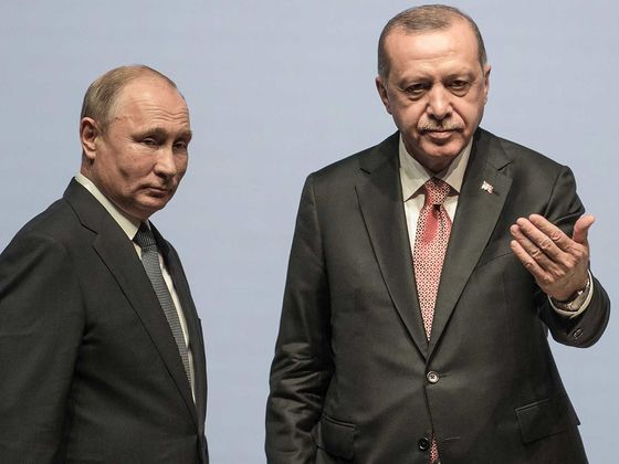 Erdogan Seeks Support in Moscow as Putin Becomes Syria Kingmaker