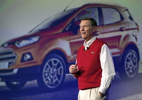 Microsoft Board Said to Consider Mulally as Ford Touts Bench