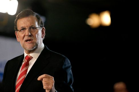 Mariano Rajoy, Spain's prime minister