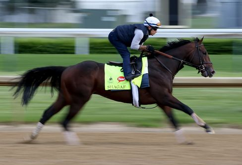 Shagaf at Churchill Downs on May 4.